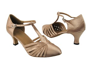6829 Light Brown Satin