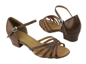 802 133 Coffee Brown Leather