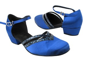 8881 247 Gem Blue Satin_243 PU Trim