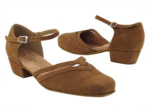 8881 265 Coffee Brown Suede_Whole Shoes