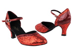 9621 10 Red Sparkle_F_H_BT_131 Red Patent_B_T_S