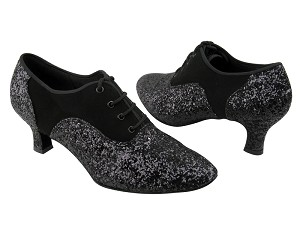 C1688 BA57 Black Nubuck & BF16 Black Sparkle