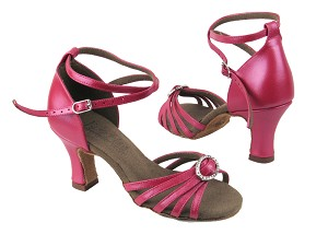 C6005 BB22 Rouge Red Leather