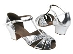 C6006 BF15 Silver Sparkle_BA32 Silver Leather