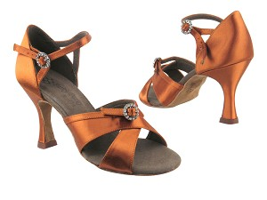 PP204 3 Dark Tan Satin