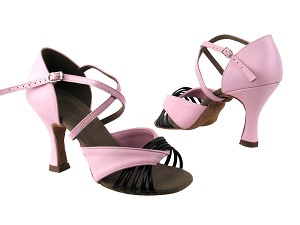 S92305 BE9 Pink Leather_Black Leather