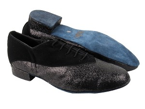 2504 Black Nubuck_127 Black Stardust