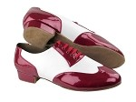 CM100101 BA72 Red Patent & White Leather