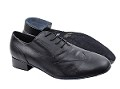 M100101 Black Leather_Whole Shoes