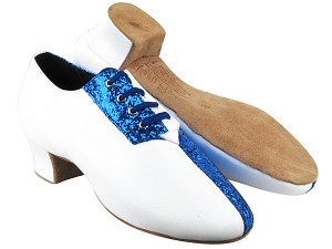 S420 BH4 Blue Sparkle_I_White Leather_O