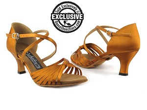 2714LEDSS Dark Tan Satin