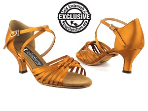 2785LEDSS Dark Tan Satin