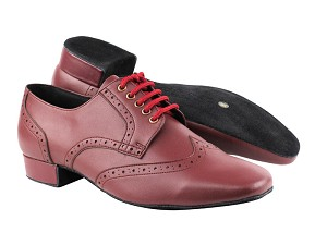 PP301 BB11 Burgundy Leather