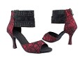 SERA7003ESS Red_Black Lace