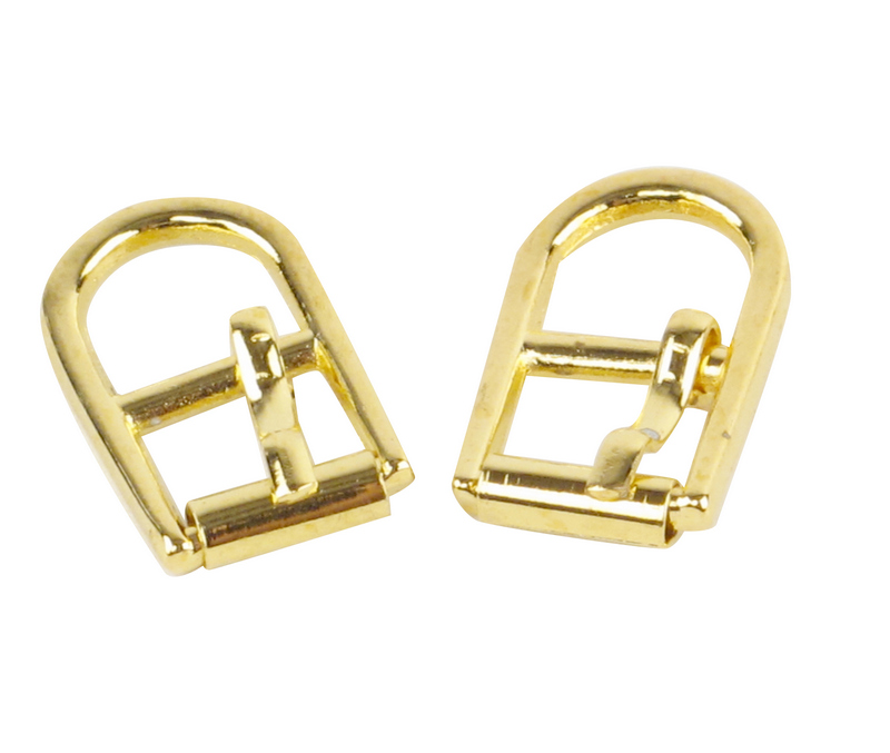 Shoe Buckles in gold color