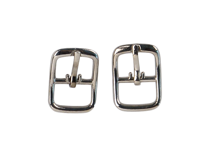 Shoe Buckles in silver color