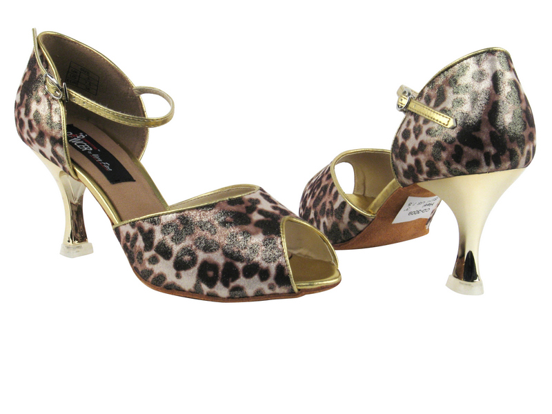 CD3009 Brown Leopard with 3