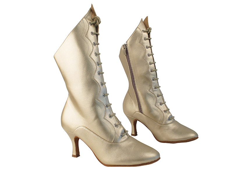 VFBoot SERA CanCan Light Gold Leather with 2.75