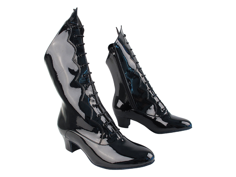 VFBoot SERACanCan Black Patent with 1.6 inch Heel (NJ) in the photo