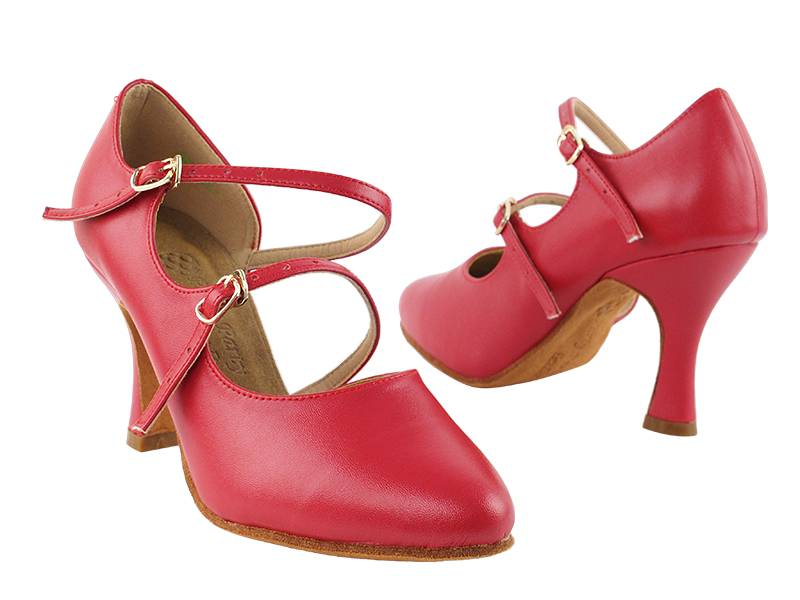 PP201 Red Leather Vegan