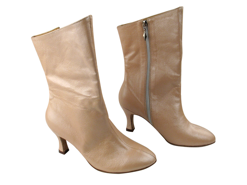 PP205A Ankle Boot Light Tan Light Leather with 2.75