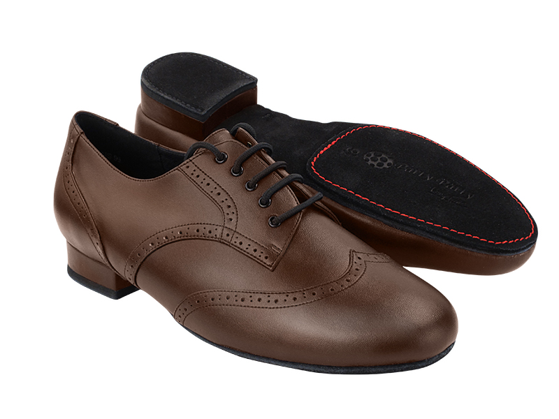 PP301DB Coffee Brown Leather with 1
