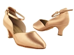 S9129 Tan Satin_2_inch Heel