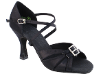S92307 Black Satin Vegan