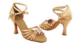 S92311 Tan Satin Vegan