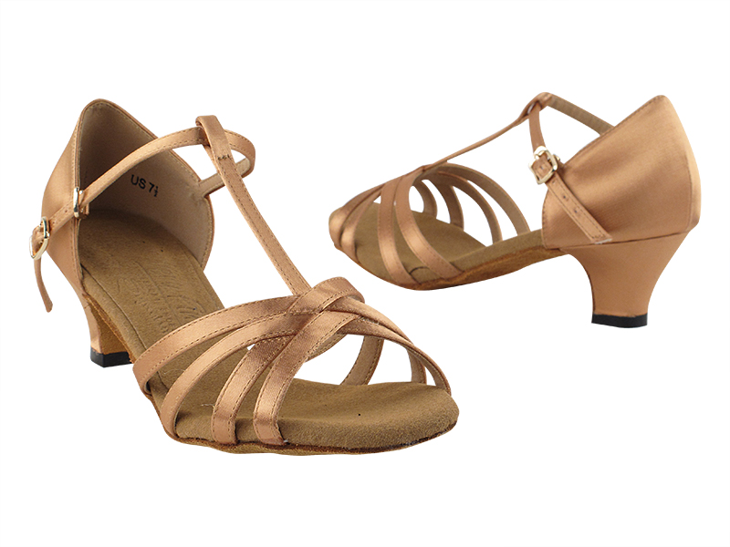 S9235 Tan Satin with 1.2
