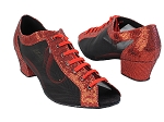 1643 285 Red Scale_Black Mesh