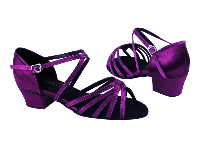1670C 111 Purple Satin