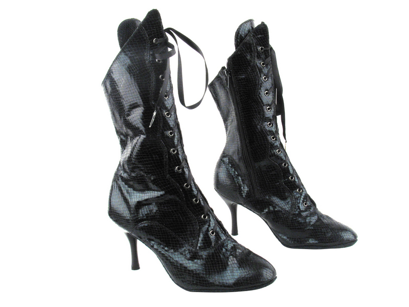 3301Boot 222 Snake Black with 3