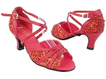 6023 10 Red Sparkle_211 Red PU Trim