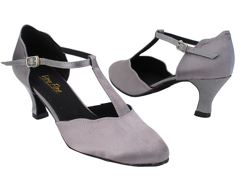 6819 263 Grey Satin with 2.5