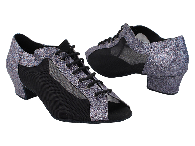 C1643 11 Grey Stardust_Black Mesh with 1.5