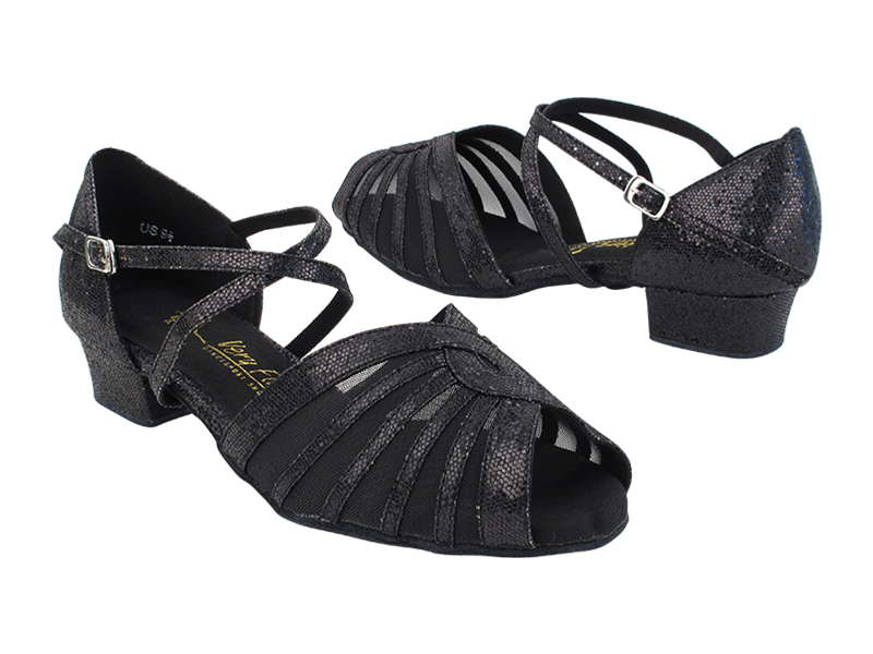 SERA2719FT 58 Black Scale_Black Mesh_X-Strap Arch with 1