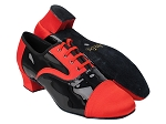 916102 112 Red Satin_F_B_58 Black Patent_M
