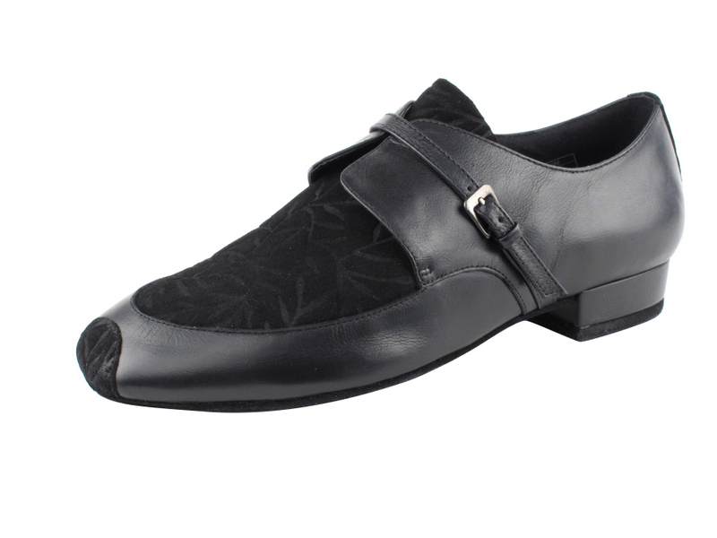 Very Fine Shoes Mens Standard /& Smooth Competitive Dancer Series CD9006A Black Leather /& Nubuck Shoes
