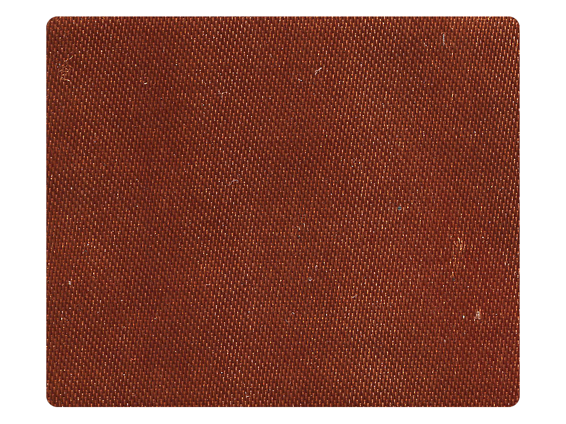 236 Dark Tan Satin Fabric Swatch
