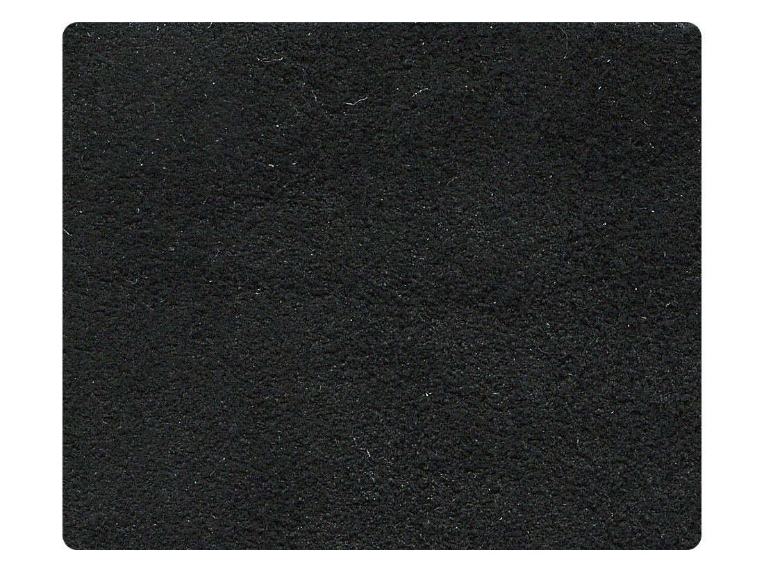 244 Black Suede Leather Fabric Swatch