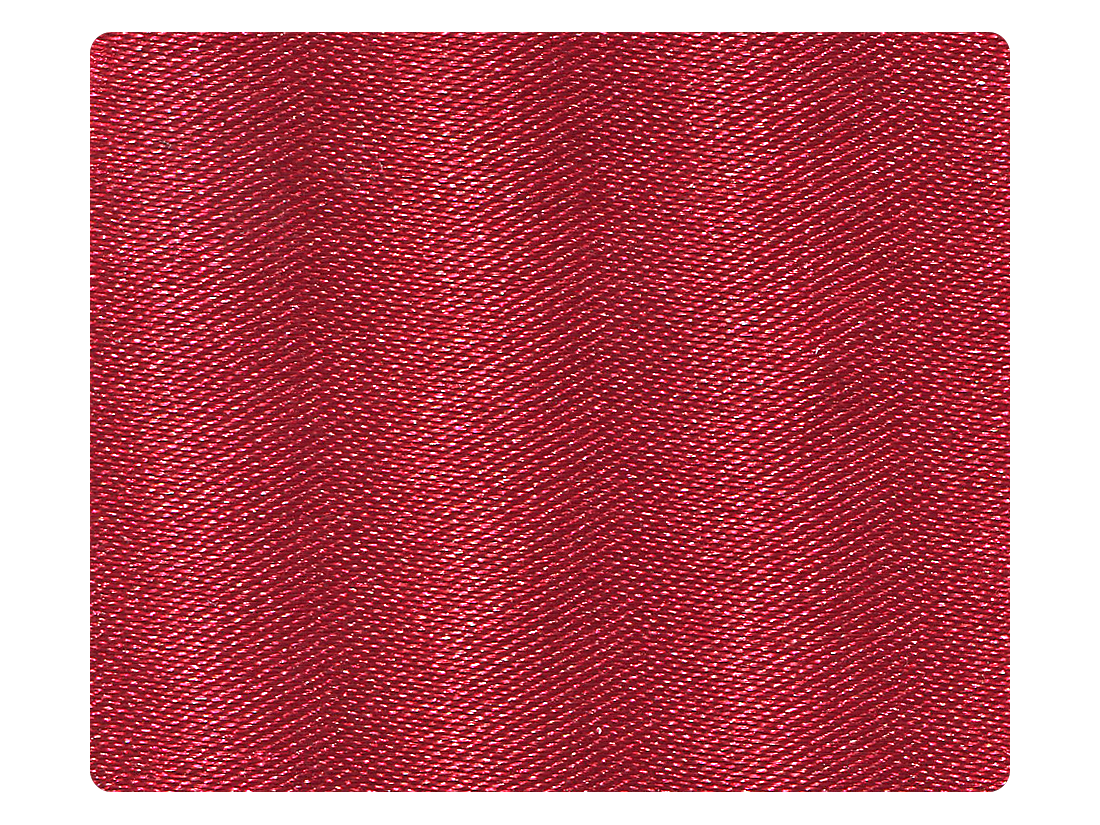 268 Dark Red Satin Fabric Swatch