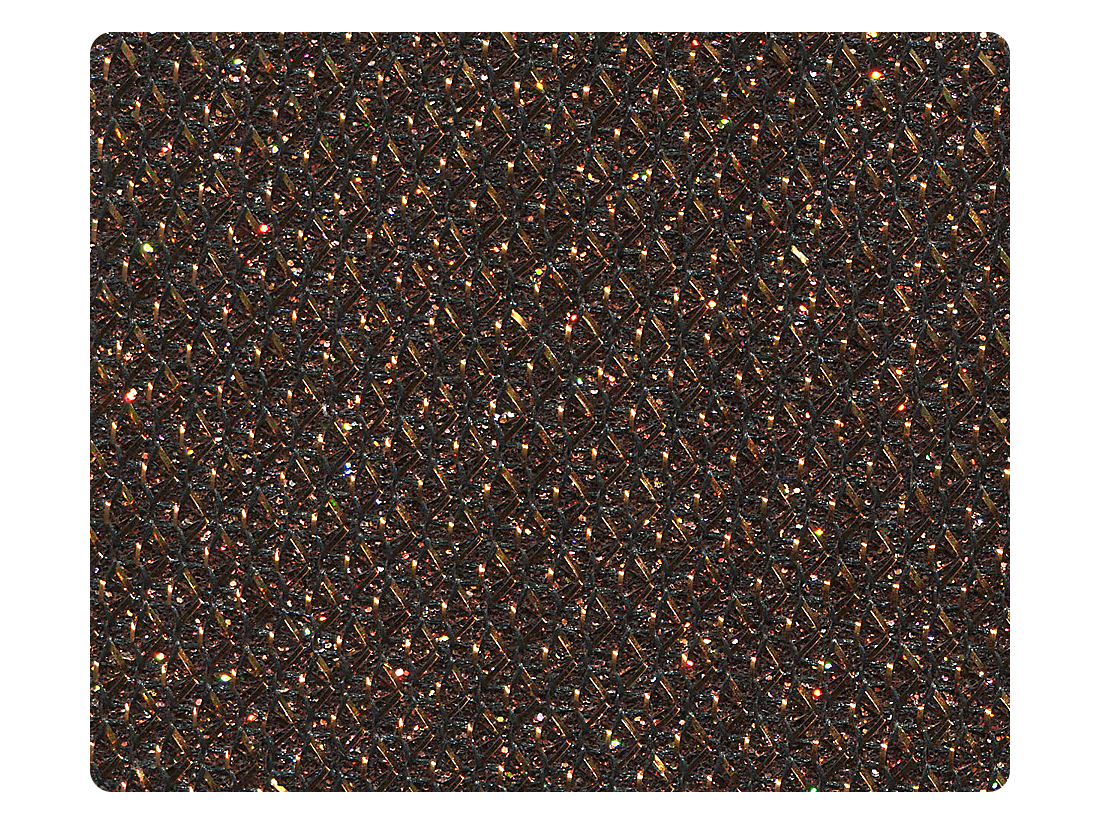 271 Copper Glitter Fabric Swatch
