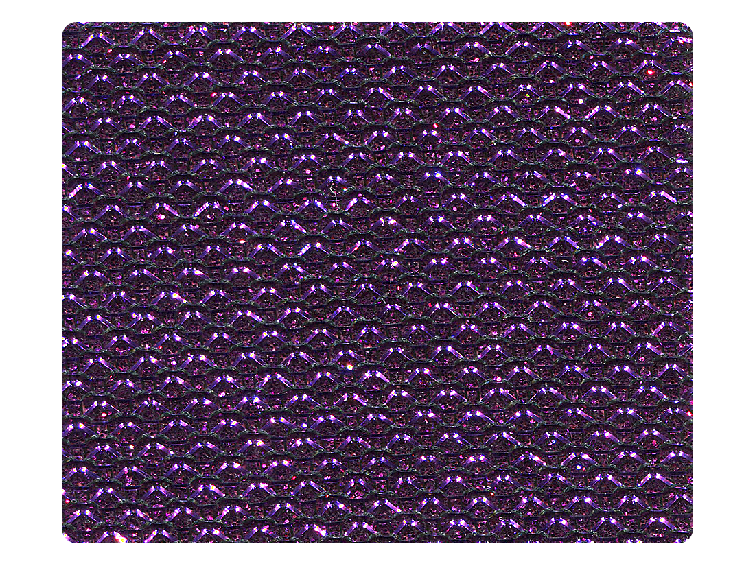 274 Purple Glitter Fabric Swatch