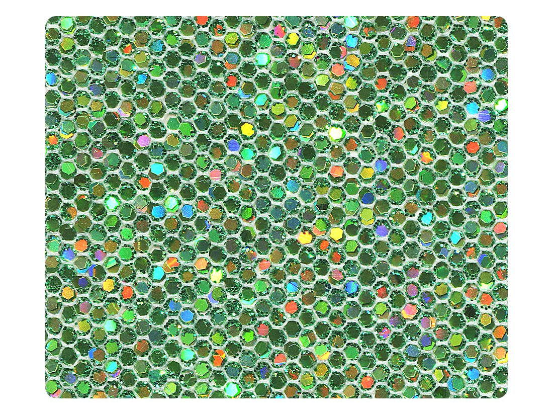 279 Green Scale Fabric Swatch