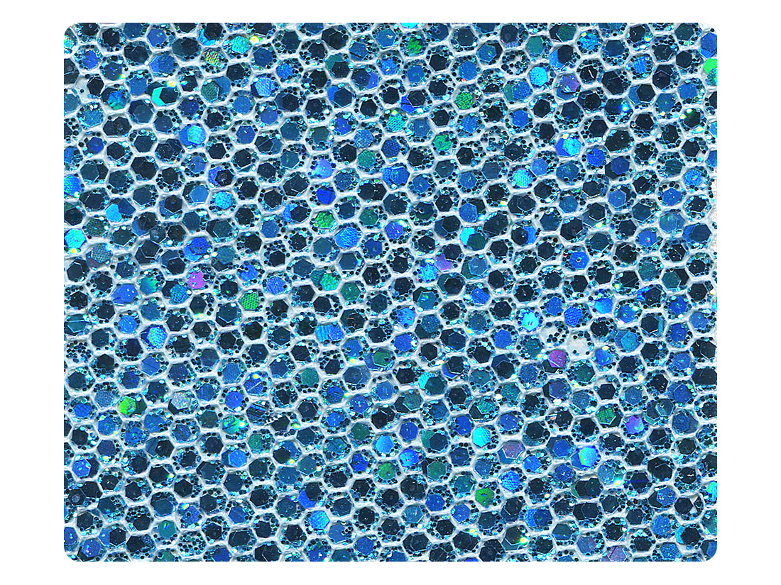280 Blue Scale Fabric Swatch