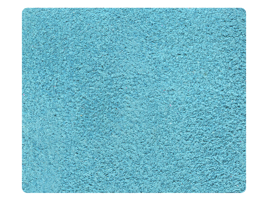 282 Blue Suede Fabric Swatch