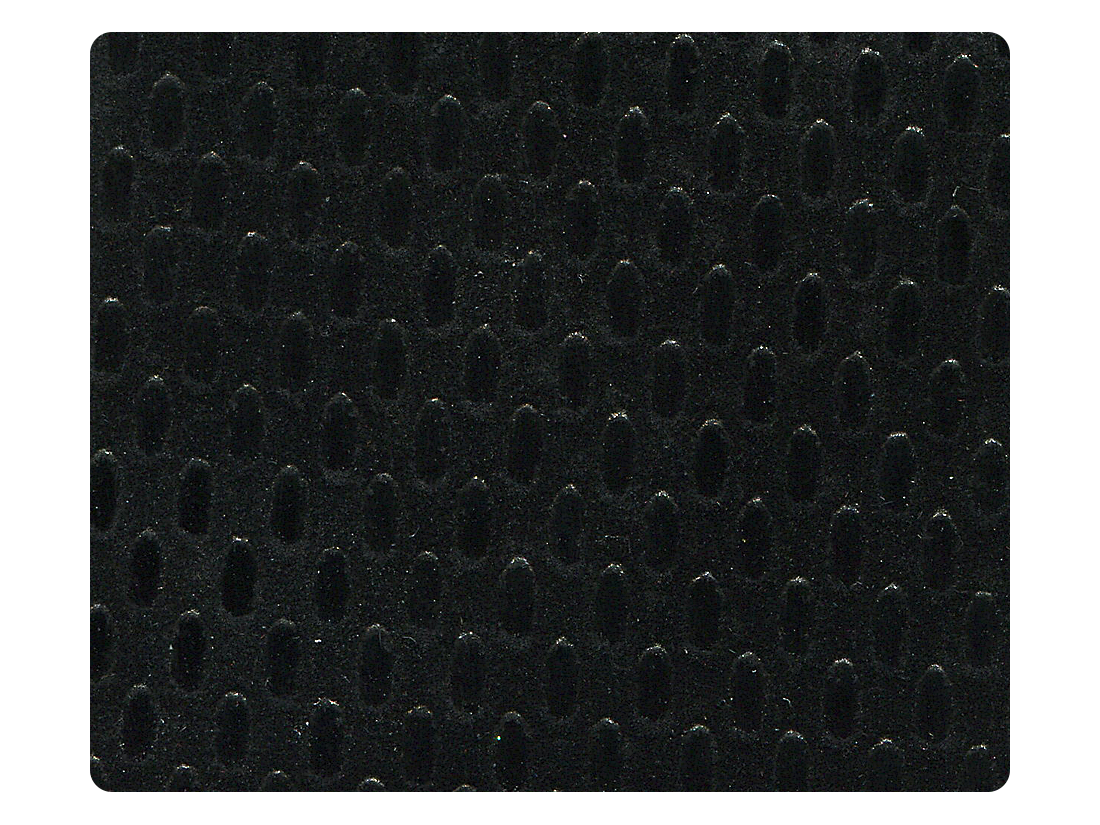 295 Black Velvet Fabric Swatch