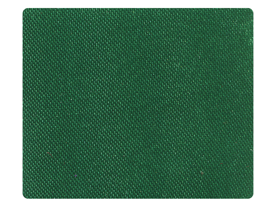 302 Green Satin Fabric Swatch