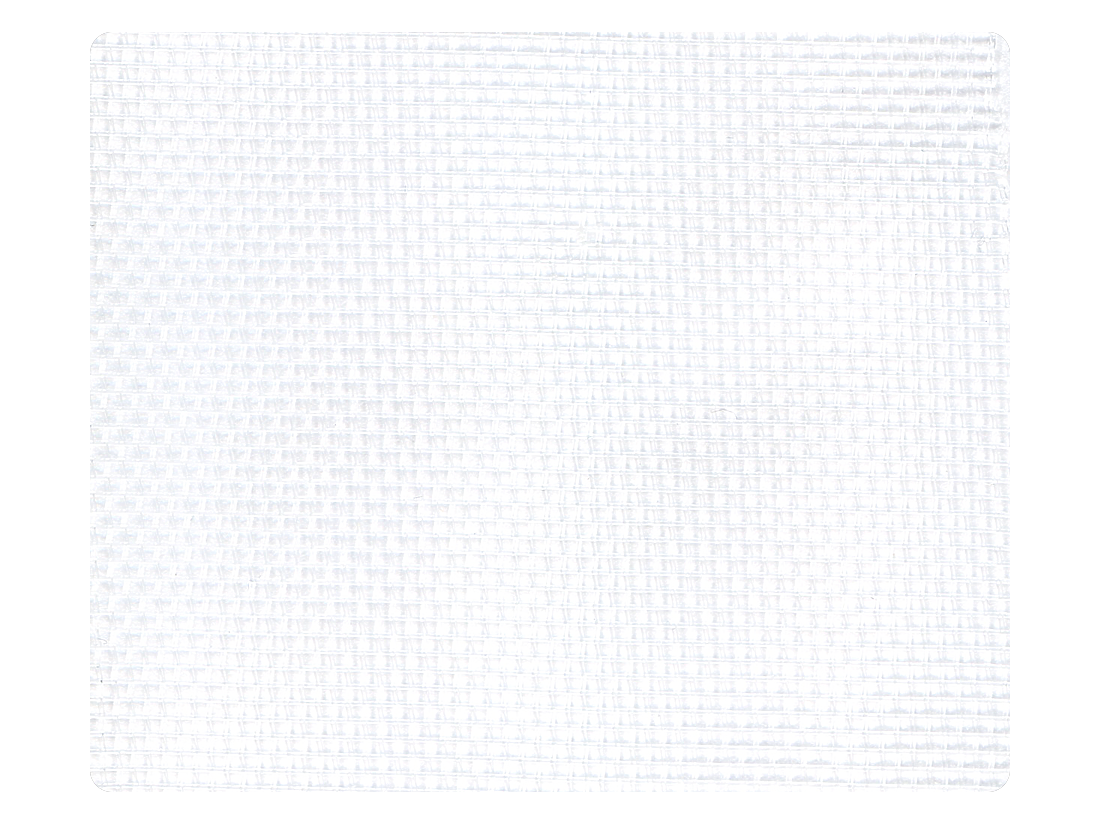 52 White Mesh Fabric Swatch